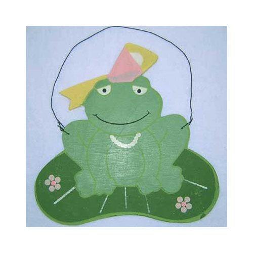 Brandee Danielle Babette Frog Hanging Art
