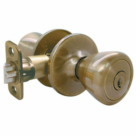 Ultra 84042 Antique Brass with Eternity Finish Entry Lockset The Ritten