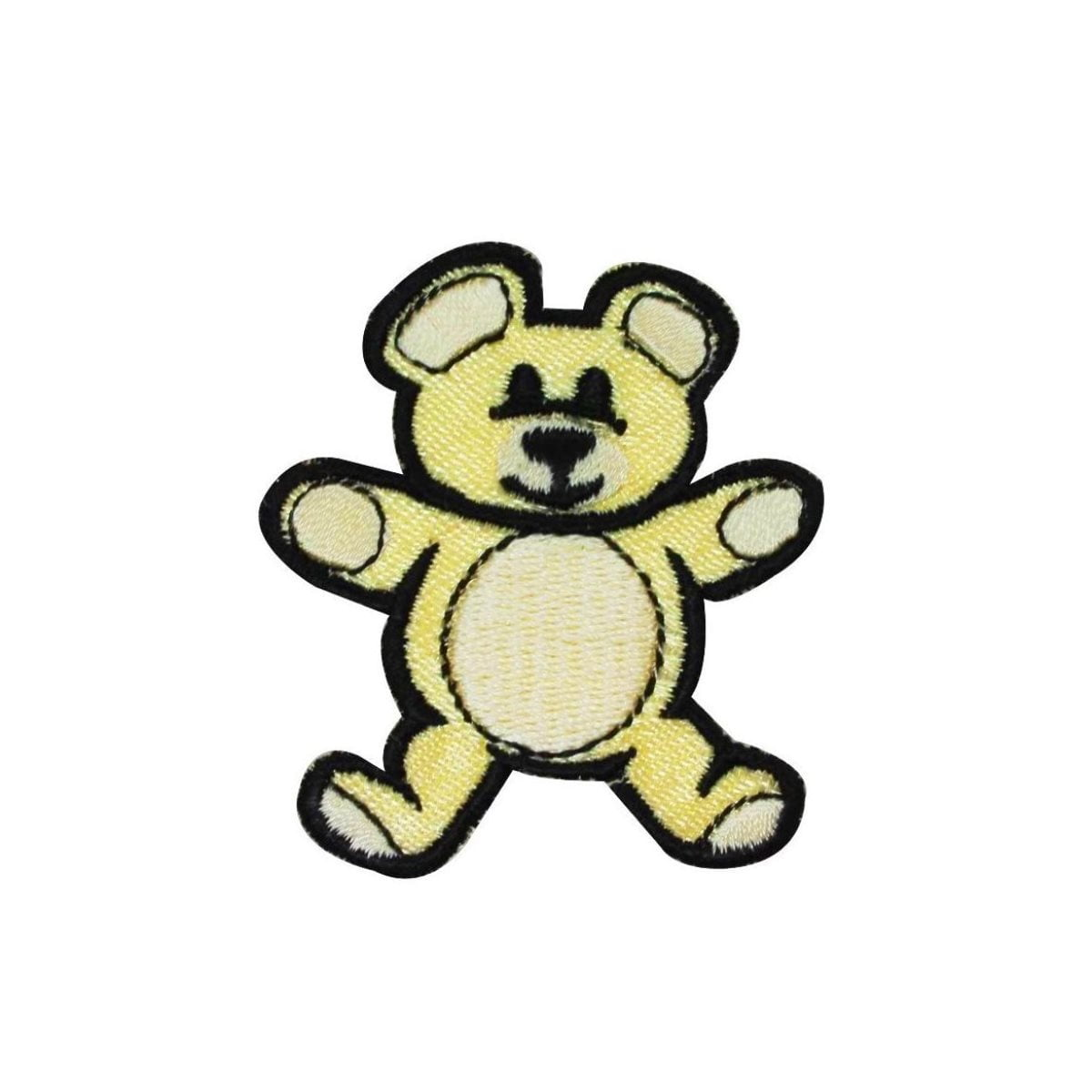 Teddy Bear Patch Children Stuffed Animal Toy Friend Embroidered Iron On Applique