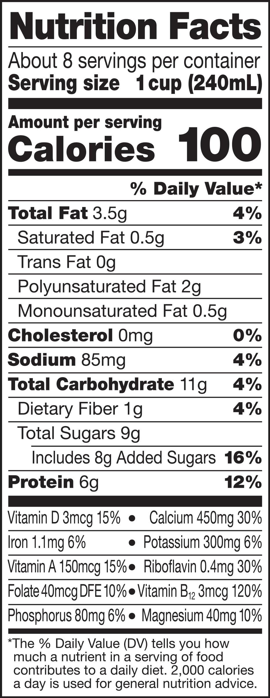 Silk Vanilla Soymilk 0.5 gal. - Walmart
