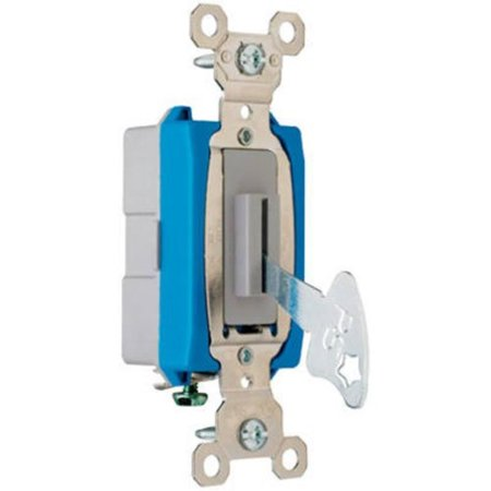 PASS & SEYMOUR PS15AC1L 15A Gry Keyed SP Switch, The product is good to use By Pass Seymour - Keyed Sp Switch