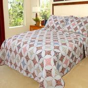 Somerset Home Printed Charlotte Quilt Bedding Set