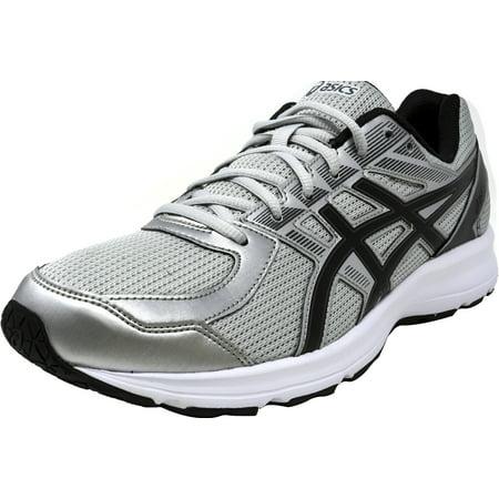 Asics Men's Jolt Glacier Grey / Black Carbon Ankle-High Running Shoe - 14M