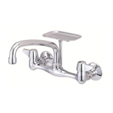 Just Manufacturing Wall Mount Faucet With Soap Dish Walmartcom