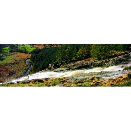 Posterazzi DPI1802865 Glenmacnass Waterfall Co Wicklow Ireland Poster Print by The Irish Image Collection, 34 x 11 - image 1 of 1
