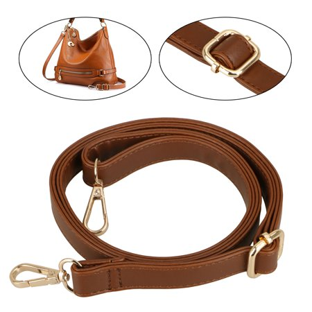 Leather Adjustable Shoulder Bag Strap, Adjustable Replacement Cross Body Handbag Purse Strap for Crossbody Bag Handbag Wallet Straps