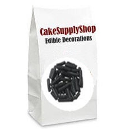 Black Cake & Cupcake Decoration Confetti Jimmies Sprinkles - Dairy Queen Halloween Cakes