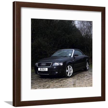 2003 Audi A4 Convertible Framed Print Wall Art Audi A4 Convertible Price