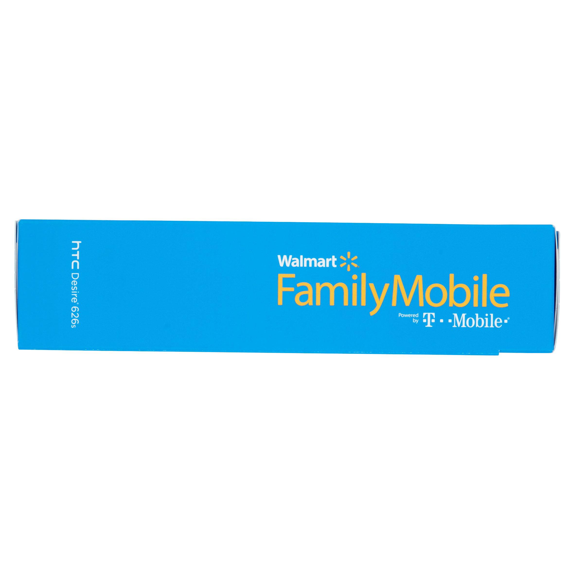 Walmart T-Mobile Family Mobile HTC Desire 626s Cellphone
