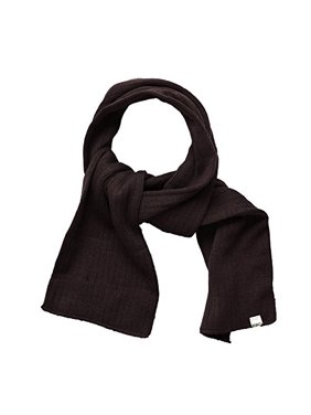 SANREMO Unisex Kids Ribbed Knitted Warm Winter Outdoor Scarf Shawl (Light Gray)