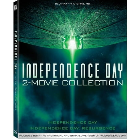 Independence Day: 2-Movie Collection (Blu-ray) - 30 Days Of Halloween Movies
