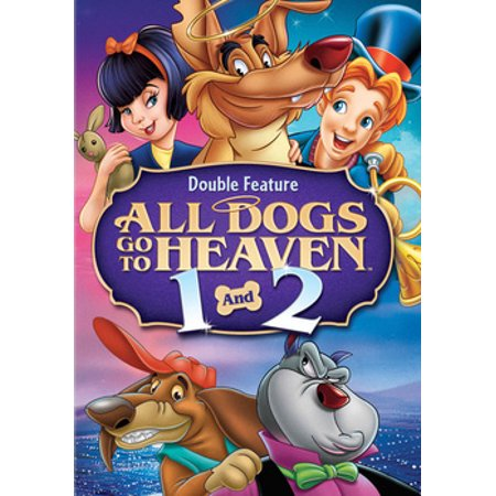 All Dogs Go To Heaven 1 & 2 (DVD) (All Dogs Go To Heaven 3 Trailer)