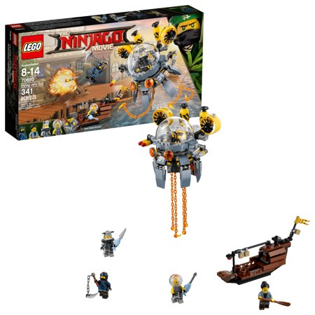 Lego Ninjago Flying Jelly Sub 70610