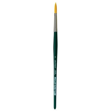 Brush Synthetic Round Watercolor - da Vinci Brush NOVA Synthetic Watercolor Brush, Round, 8