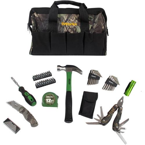 Olympia Tools 51-Piece Camo  Tool Bag Set