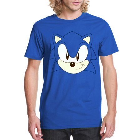 Sonic The Hedgehog Face T-Shirt](Hedgehog Suit)