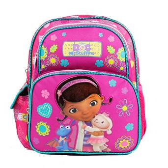 "Small Backpack - Disney - Doc Mcstuffins - Purple 12"" New 635756"