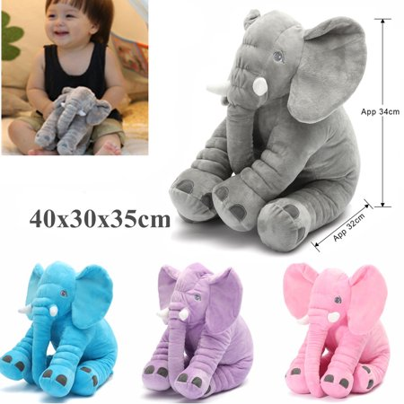 Long Nose Elephant Doll Pillow Plush Stuffed Animal Cushion Kids Baby Sleeping Soft Pillow Toy](Personalized Baby Stuff)