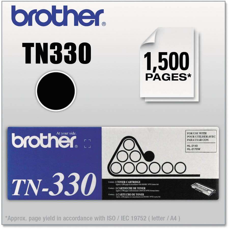 Brother Black Toner Print Cartridge (TN330)