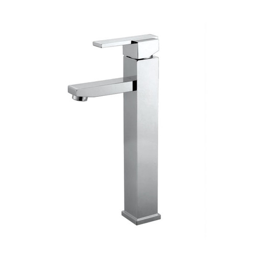 Polished Chrome Cadell 2010018CP-WD Single Hole Bathroom Faucet with Matching Pop-Up Drain