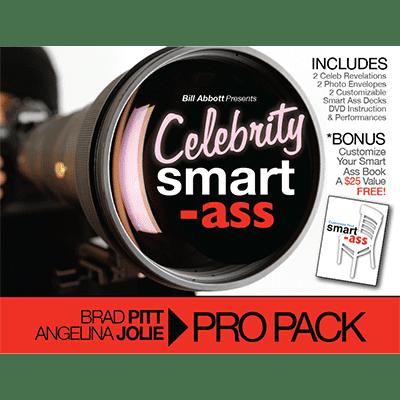 Celebrity Smart Ass Bundle  Brad Pitt   Angelina Jolie  By Bill Abbott