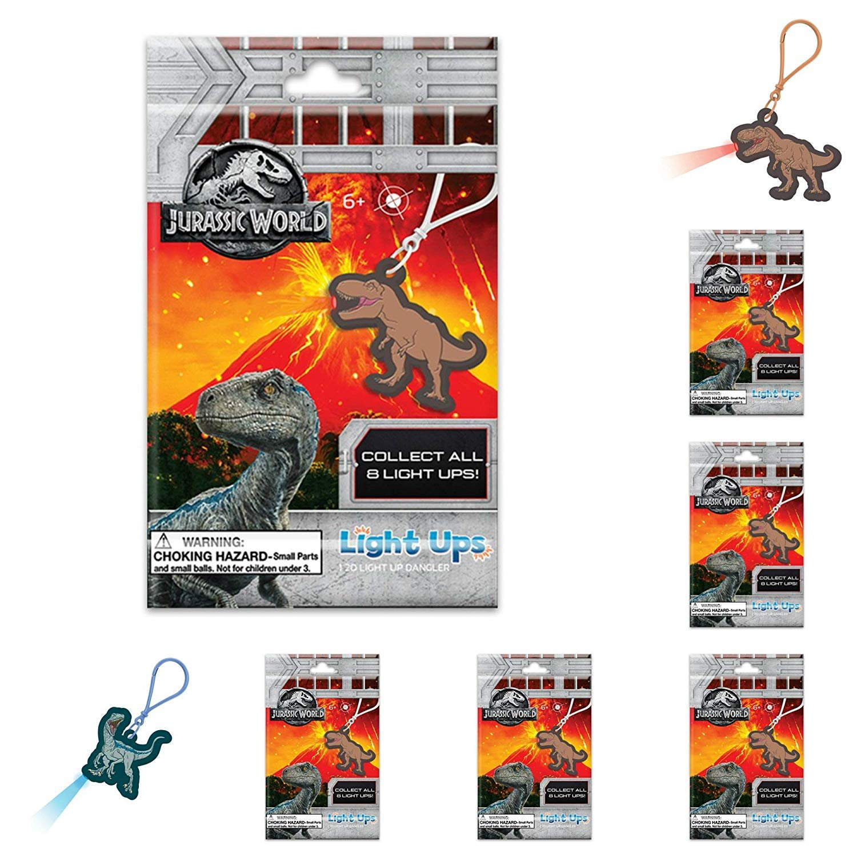Jurassic World Bulls i Toy Fallen Kingdom Light Ups 6 Packs