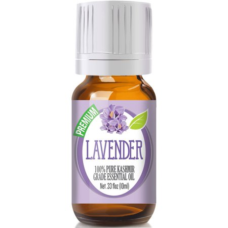 Healing Solutions Lavender 100  Pure  Best Therapeutic  Kashmir  Grade Essential Oil For Aromatherapy   10Ml