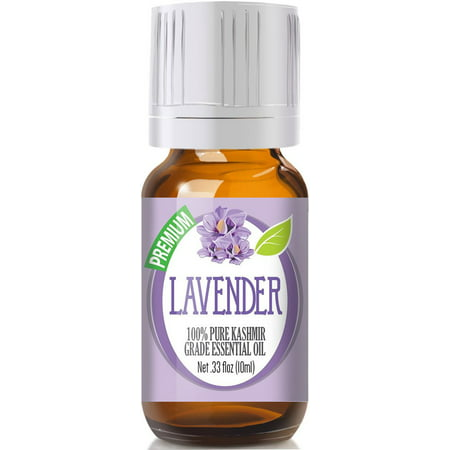 Healing Solutions - Lavender (Kashmir) Oil (10ml) 100% Pure, Best Therapeutic Grade Essential Oil -