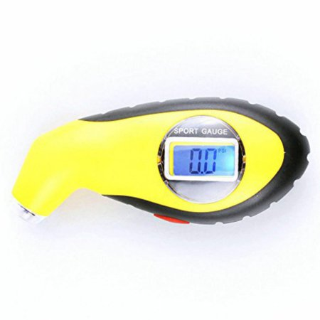 German Precision Barometer (Supersellers Electronic Digital Tire Gauge Tire Pressure Gauge Manometer Barometers Tester LCD Tyre Tester ABS Portable Precision With Night Vison Emergency Lighting For Car Tire )