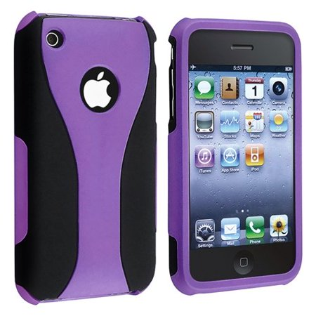 Rubberized Hard Snap-on Cup Shape Case for iPhone 3G / 3GS - (Best Iphone 3gs Case)