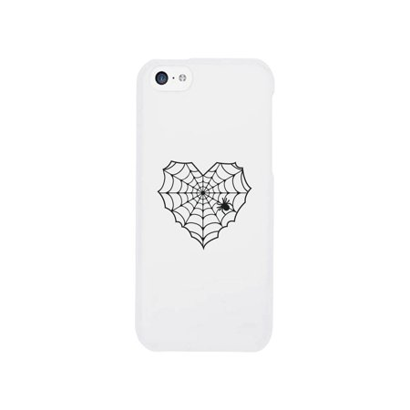 Phones 4 U Halloween (Spider Web Funny Graphic iPhone 5C Case Funny Halloween Phone)