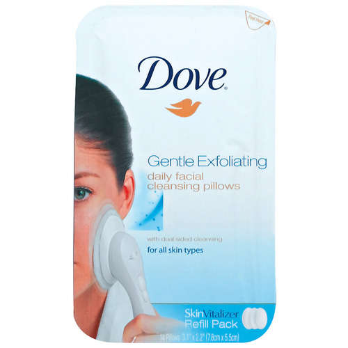Pussy conveyor dove gentle exfoliating daily facial cleansing pillows video one the