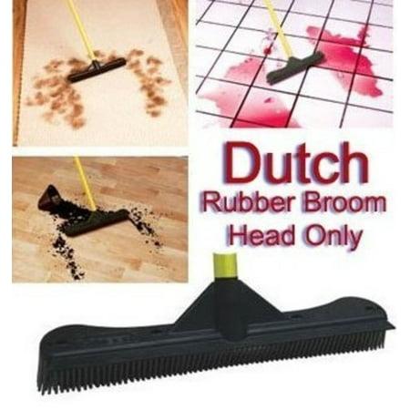 Dutch Rubber Broom 12 Quot Head Walmart Com