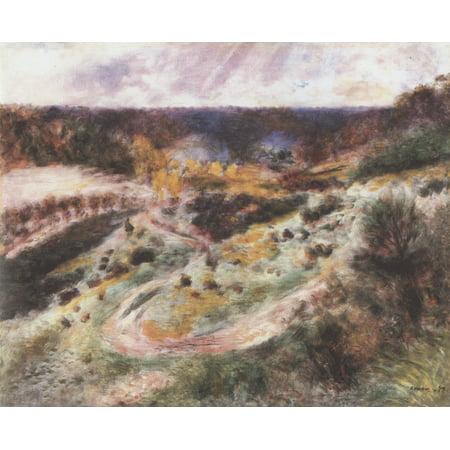 Framed Art for Your Wall Renoir, Pierre -Auguste - Landscape at Wargemont 10 x 13 Frame