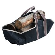 Portable Canvas Heavy Duty Log Carrier Makes Moving Logs Easy By Kodiak