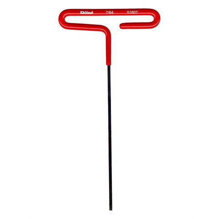 6in Cushion Grip T Handle Hex Key 7 64in