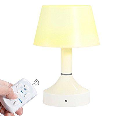 Ststech Remote Control Bedside Lamp Led Desk Table Gift Usb Rechargeable For Baby Nursery Night