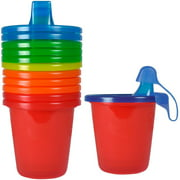 The First Years Take & Toss Spill-Proof 7 Ounce Cups 6 ea Assorted Colors (Pack of 4)