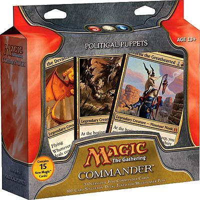 Magic The Gathering Commander Political Puppets EDH Deck by