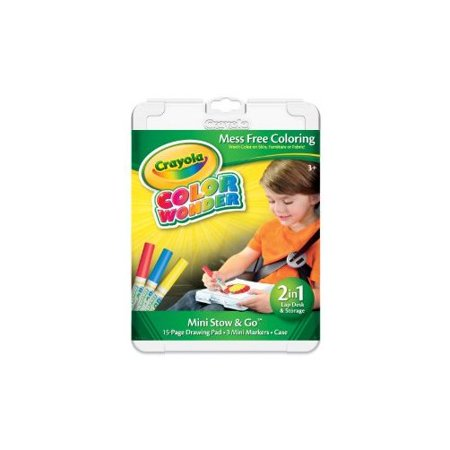 Crayola Color Wonder Mini Stow and Go Studio Coloring Kit ...