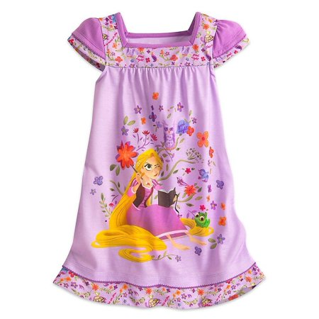 Disney Rapunzel Nightshirt for Girls - Tangled: The Series, Multi, Size: 9/10
