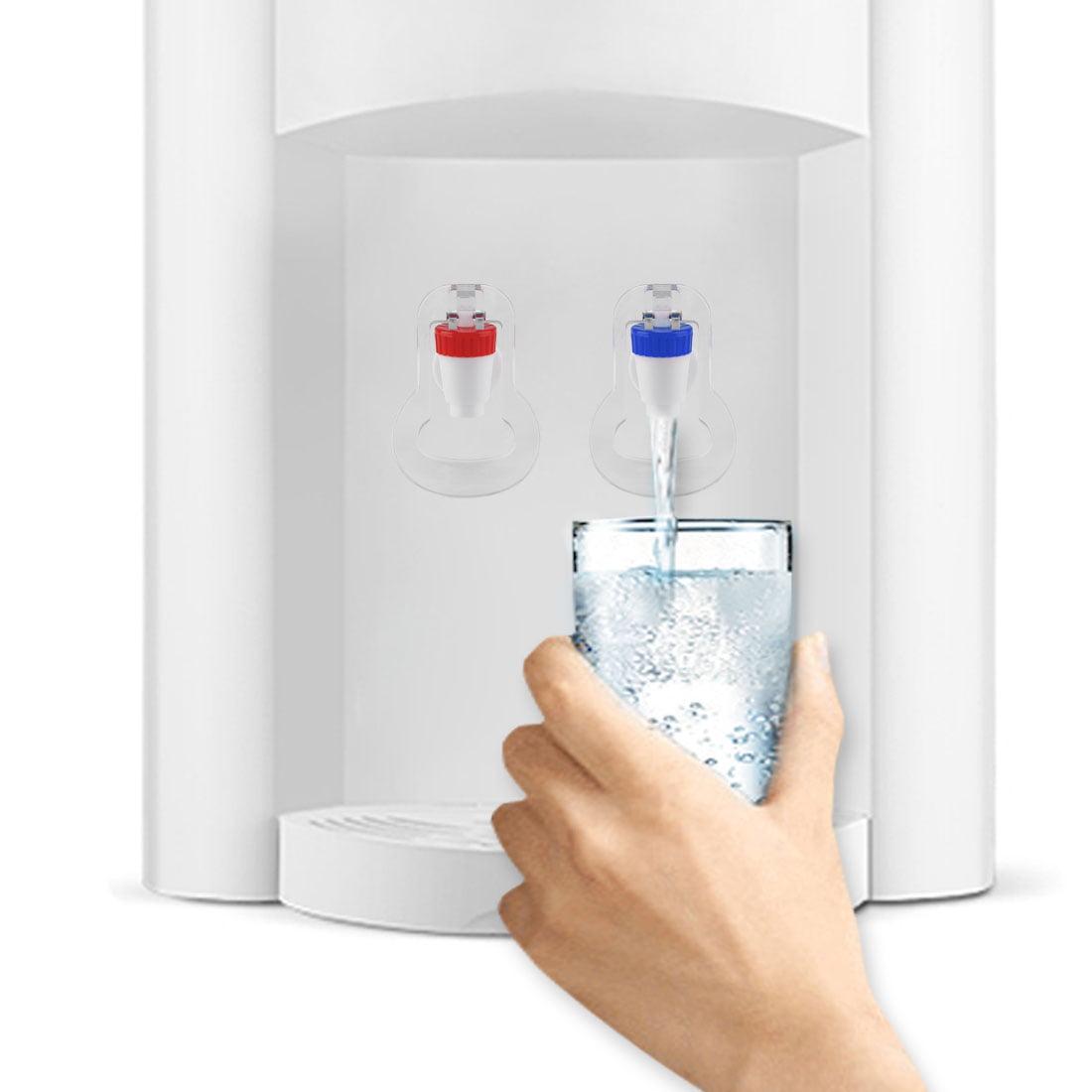 1PCS Push Type Plastic Replacement Water Dispenser Tap Faucet Hs
