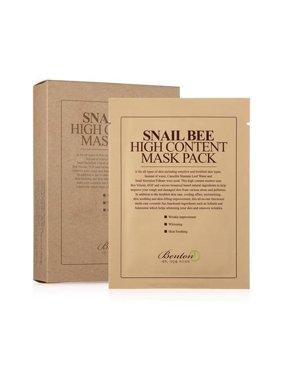 [ BENTON ]  Snail Bee High content Sheet Mask Pack 10sheets