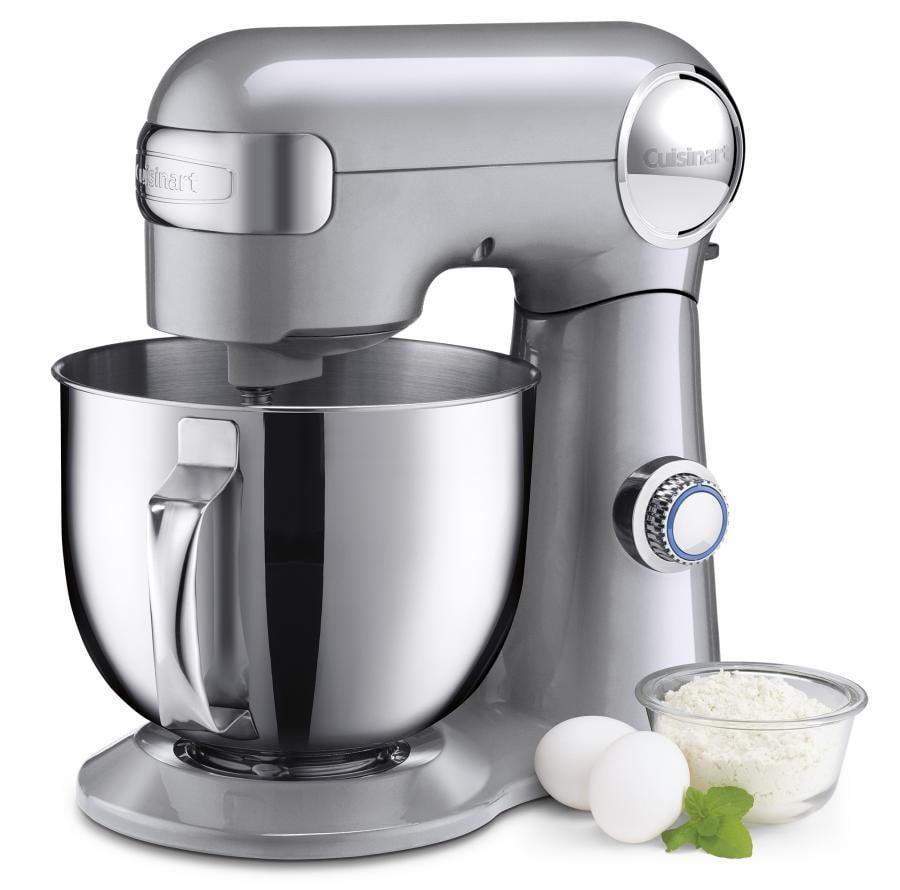 Cuisinart Precision Master 5.5 Quart Stand Mixer - Brushed Chrome