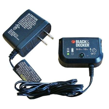Black & Decker 90592363 Multi-Volt 9.6v-18v NiCad Battery Charger New HPB18-OPE