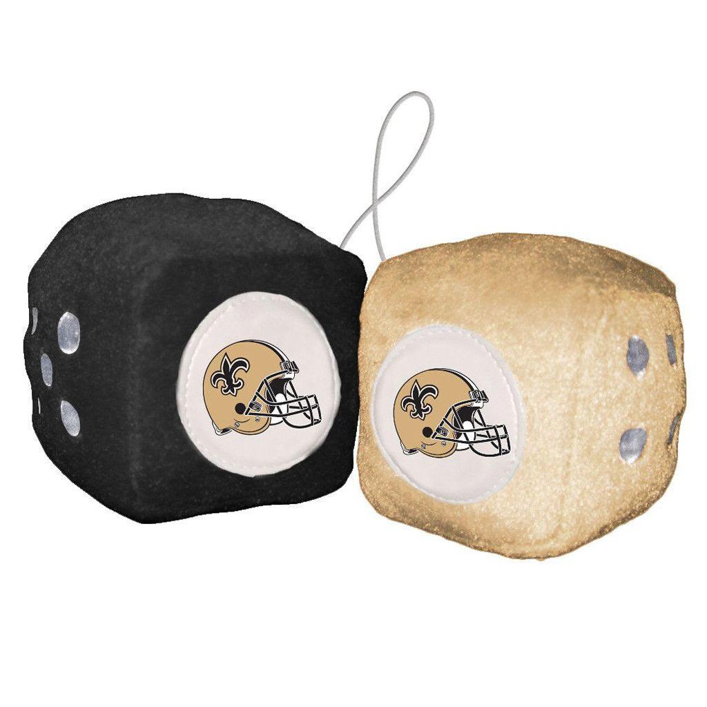 New Orleans Saints Fuzzy Dice - image 1 de 1