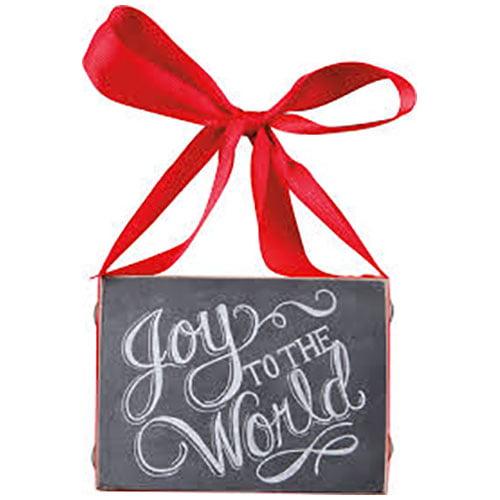 Primitives by Kathy Joy To The World Chalkboard
