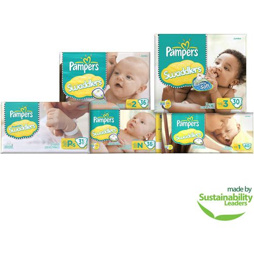 Pampers Swaddlers Diapers, Jumbo Pack, Size 3, 30 ct
