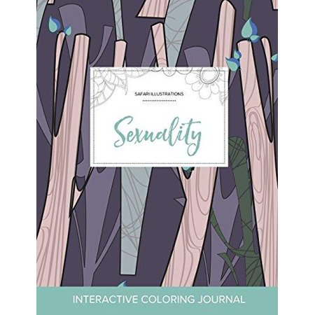 Adult Coloring Journal: Sexuality (Safari Illustrations, Abstract Trees) - image 1 de 1