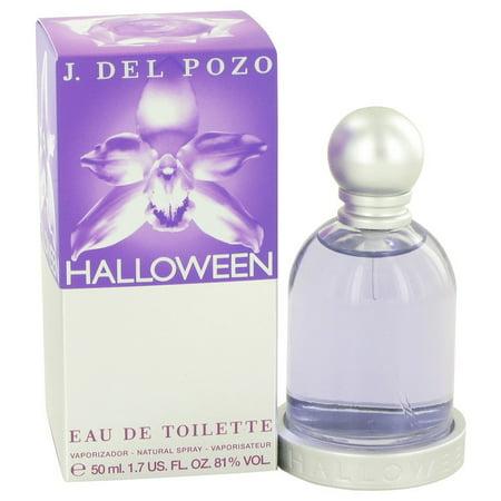 HALLOWEEN by Jesus Del Pozo Eau De Toilette Spray 1.7 oz - J.del Pozo Halloween Water Lily